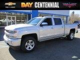 2017 Silver Ice Metallic Chevrolet Silverado 1500 LTZ Crew Cab 4x4 #119525837