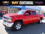 2017 Red Hot Chevrolet Silverado 1500 LT Crew Cab 4x4 #119525836