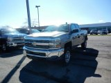 2017 Pepperdust Metallic Chevrolet Silverado 2500HD Work Truck Double Cab 4x4 #119526052