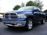 2009 Deep Water Blue Pearl Dodge Ram 1500 Lone Star Edition Crew Cab #11892191