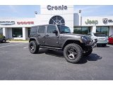 2017 Granite Crystal Metallic Jeep Wrangler Unlimited Sport 4x4 #119525922