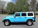 2017 Chief Blue Jeep Wrangler Unlimited Chief Edition 4x4 #119525748