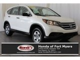 2014 White Diamond Pearl Honda CR-V LX AWD #119525806