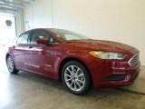 2017 Ruby Red Ford Fusion Hybrid SE #119553149