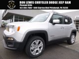 2017 Glacier Metallic Jeep Renegade Limited 4x4 #119553349