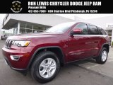 2017 Velvet Red Pearl Jeep Grand Cherokee Laredo 4x4 #119553348