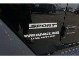 2017 Jeep Wrangler Unlimited Sport 4x4 Marks and Logos