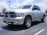 2009 Bright Silver Metallic Dodge Ram 1500 Big Horn Edition Crew Cab #11892185