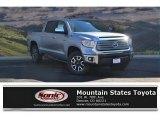 2017 Silver Sky Metallic Toyota Tundra Limited CrewMax 4x4 #119553067