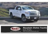2017 Super White Toyota Tundra Limited Double Cab 4x4 #119553064