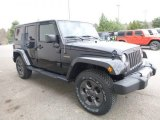 2017 Jeep Wrangler Unlimited Freedom Edition 4x4 Front 3/4 View