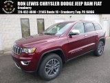 2017 Velvet Red Pearl Jeep Grand Cherokee Limited 4x4 #119553110