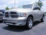 2009 Light Graystone Pearl Dodge Ram 1500 Big Horn Edition Crew Cab #11892235