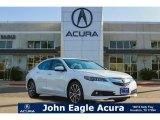 2017 Bellanova White Pearl Acura TLX V6 SH-AWD Advance Sedan #119576962