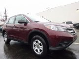 2013 Basque Red Pearl II Honda CR-V LX AWD #119577005