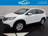 2013 White Diamond Pearl Honda CR-V EX AWD #119576909