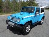 2017 Jeep Wrangler Chief Blue