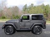2017 Granite Crystal Metallic Jeep Wrangler Smoky Mountain Edition 4x4 #119576892
