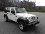 Bright White Jeep Wrangler Unlimited in 2017