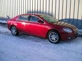 2008 Red Jewel Tint Coat Chevrolet Malibu LTZ Sedan #1189463