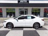 2017 Bellanova White Pearl Acura TLX V6 Advance Sedan #119604313