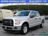 2015 Ingot Silver Metallic Ford F150 XL SuperCrew 4x4 #119602753