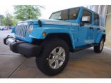 2017 Chief Blue Jeep Wrangler Unlimited Chief Edition 4x4 #119603048