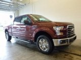 2017 Bronze Fire Ford F150 XLT SuperCrew 4x4 #119604061