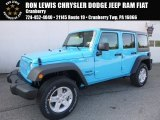 2017 Chief Blue Jeep Wrangler Unlimited Sport 4x4 #119603014