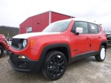 2017 Colorado Red Jeep Renegade Latitude 4x4 #119603516