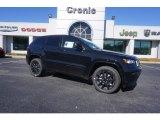 2017 Diamond Black Crystal Pearl Jeep Grand Cherokee Laredo #119603501