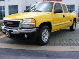 2005 Flame Yellow GMC Sierra 1500 Z71 Extended Cab 4x4 #11892323