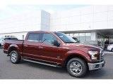 2017 Bronze Fire Ford F150 XLT SuperCrew #119603475