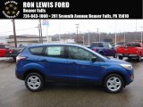 2017 Lightning Blue Ford Escape S #119602542