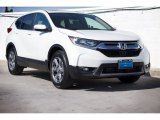 2017 White Diamond Pearl Honda CR-V EX-L #119602838