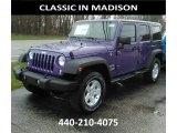 2017 Extreme Purple Jeep Wrangler Unlimited Sport 4x4 #119604374