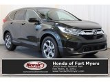 2017 Dark Olive Metallic Honda CR-V EX-L #119603389