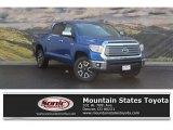 2017 Blazing Blue Pearl Toyota Tundra Limited CrewMax 4x4 #119603893
