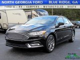 2017 Shadow Black Ford Fusion SE #119602484
