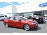 2017 Ruby Red Ford Fusion SE #119719581