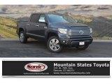 2017 Magnetic Gray Metallic Toyota Tundra Platinum CrewMax 4x4 #119719423