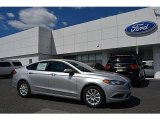 2017 Ingot Silver Ford Fusion S #119719580