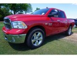 2017 Flame Red Ram 1500 Big Horn Crew Cab #119719564