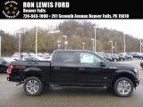 2017 Shadow Black Ford F150 XLT SuperCrew 4x4 #119719492