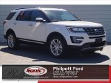 2017 White Platinum Ford Explorer Limited #119719685