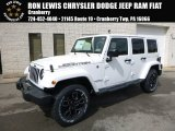 2017 Bright White Jeep Wrangler Unlimited Smoky Mountain Edition 4x4 #119719526