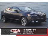 2017 Shadow Black Ford Fusion Platinum AWD #119719757