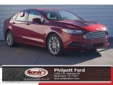 2017 Ruby Red Ford Fusion SE #119719756