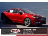 2017 Ruby Red Ford Fusion SE #119719751