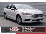 2017 White Platinum Ford Fusion SE #119719750